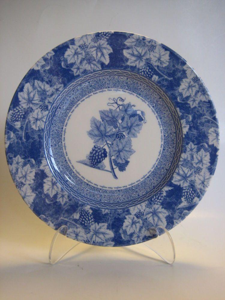 "Vintage Blue Wedgwood Home Salad Plate 8 1/4"""
