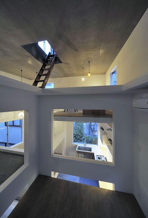 House T For A Couplehiroyuki Shinozaki Associates Architects
