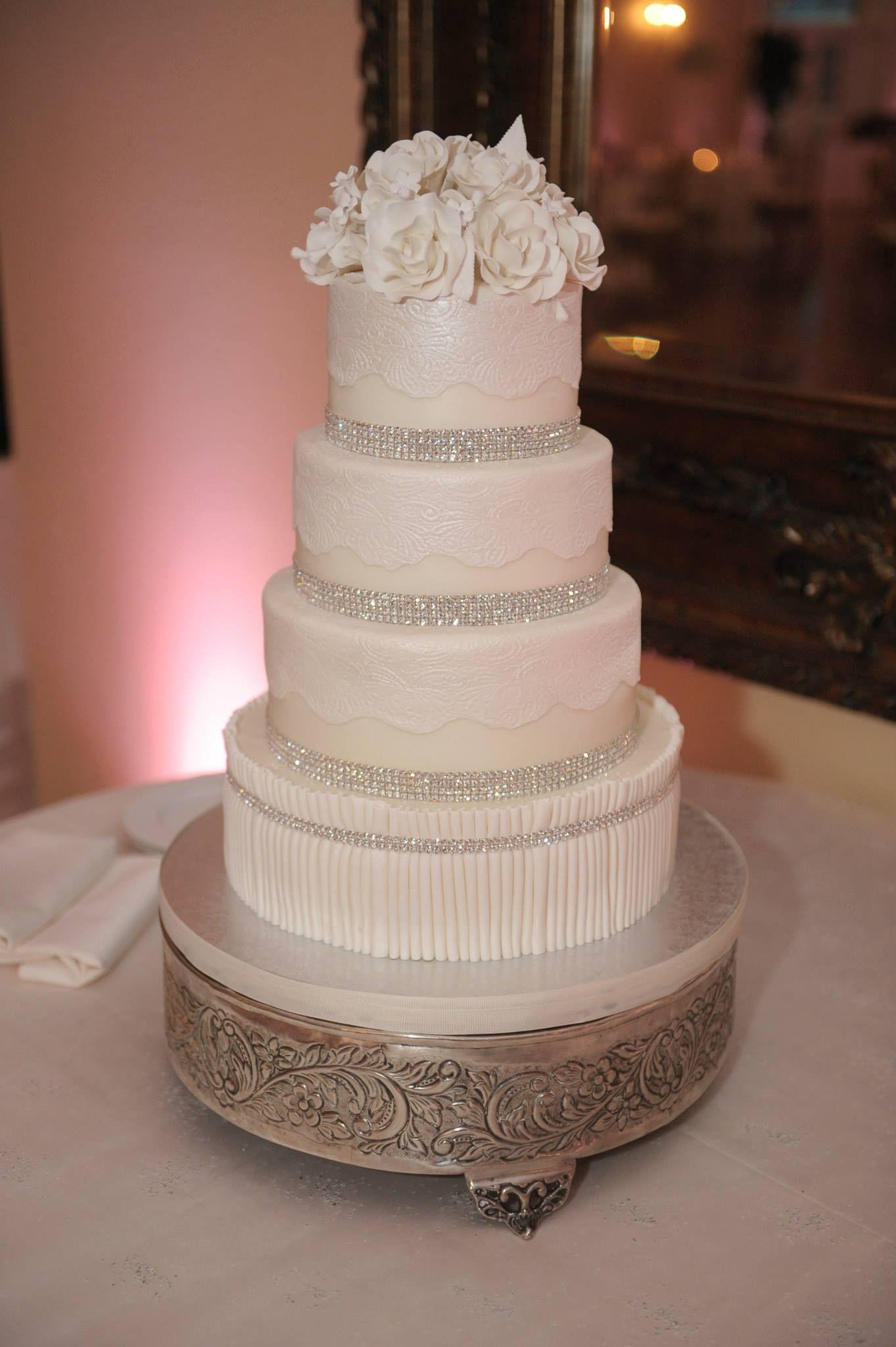 Wedding Planners - Eventrics Weddings | Venue - The Lange Farm | Photography - Asaad {AI} Images | Event Design - The Event Source Weddings | Wedding Cake - Party Flavors Custom Cakes | Wedding Reception | Wedding Cake
