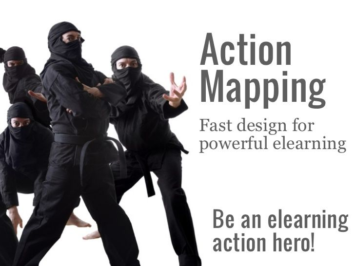 Design Lively Elearning with Action Mapping by Cathy Moore via slideshare