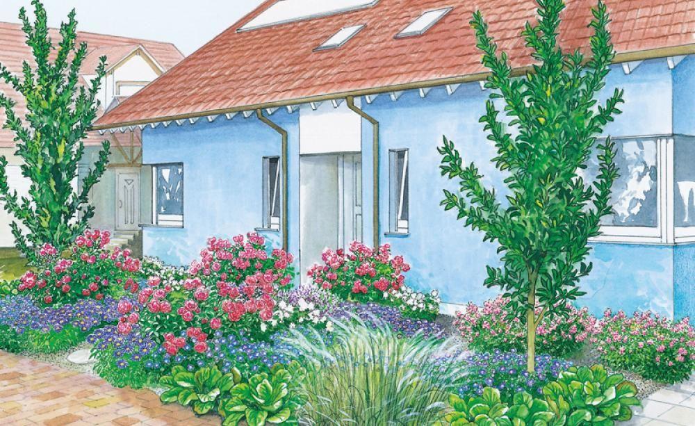 Vorgartengestaltung: 40 Ideen zum Nachmachen | Garten | Pinterest ...