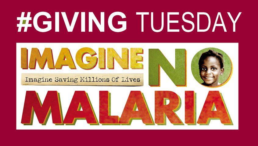 Texting MALARIA to 27722 on Nov. 27 forf GIVING TUESDAY