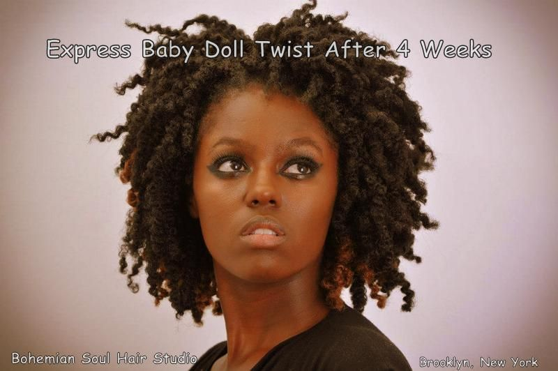 Hair Studio Baby Doll Twist Out