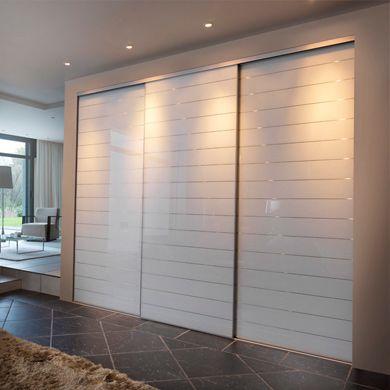 Contemporain 001b1 placard entree pinterest placard portes et portes coulissantes - Deco porte coulissante placard ...