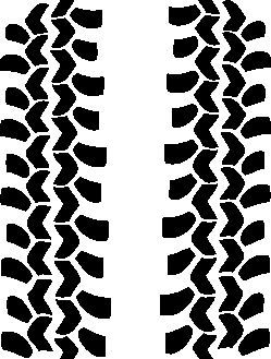 Bf Goodrich Tire Tread Decals Off Road 4x4 Jeep Bfg Rubicon