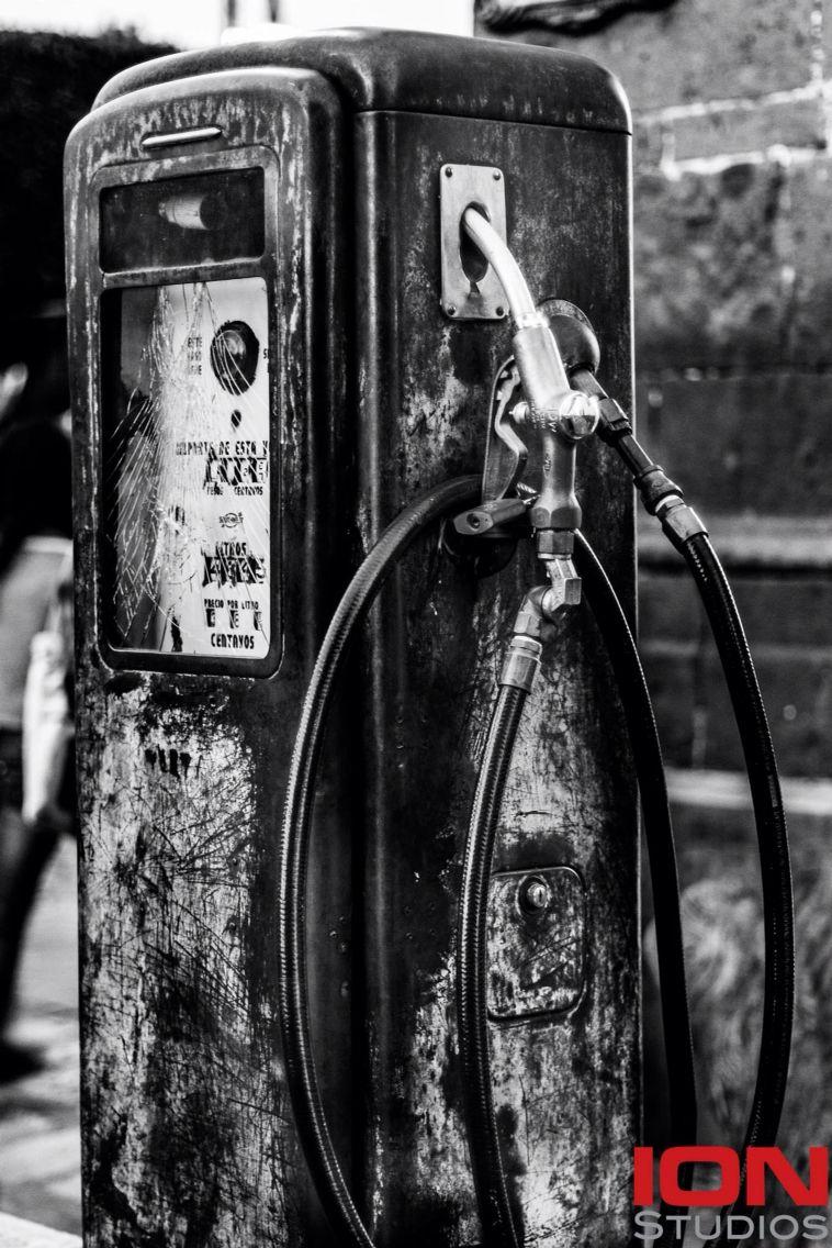 Gas pump. Sam Miguel de Allende, México.