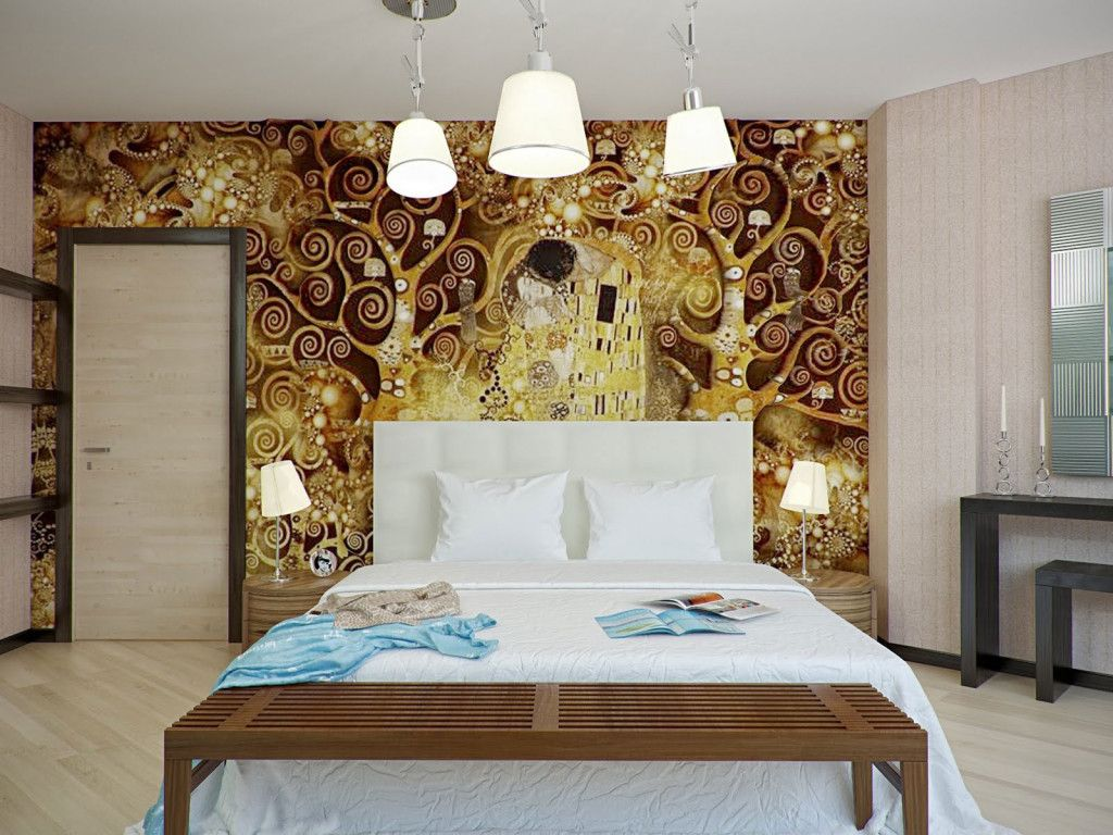 27 Fabulous Wallpaper Ideas For Master Bedroom Brown Wallpaper Endearing  Wallpaper For Bedroom Walls Designs Review