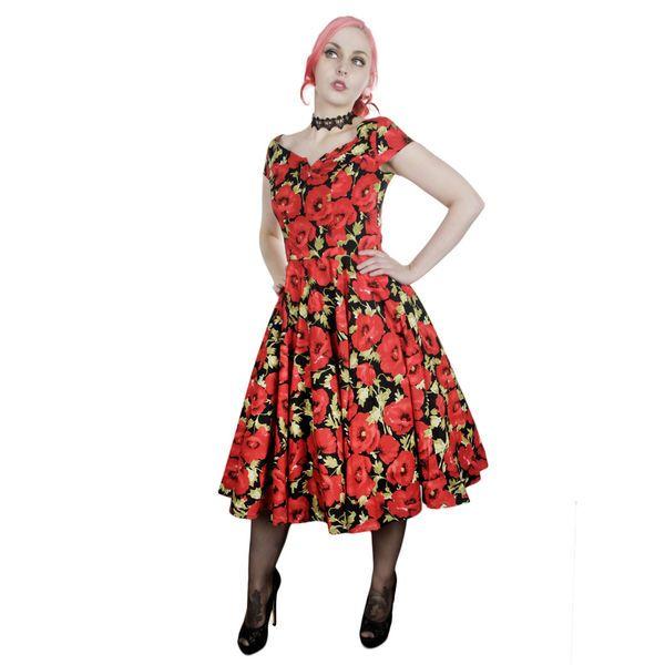 Miss Elinor -Rosemary Red Poppy Mekko   Cybershop