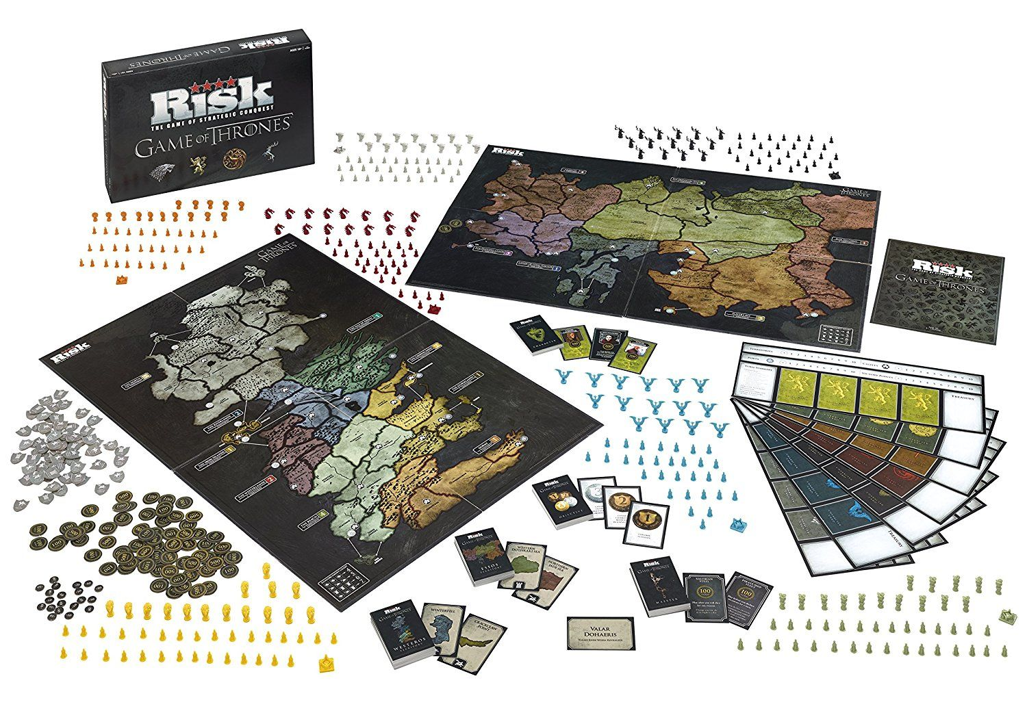 Game of Thrones RISK Deluxe Edition Risk games, Games