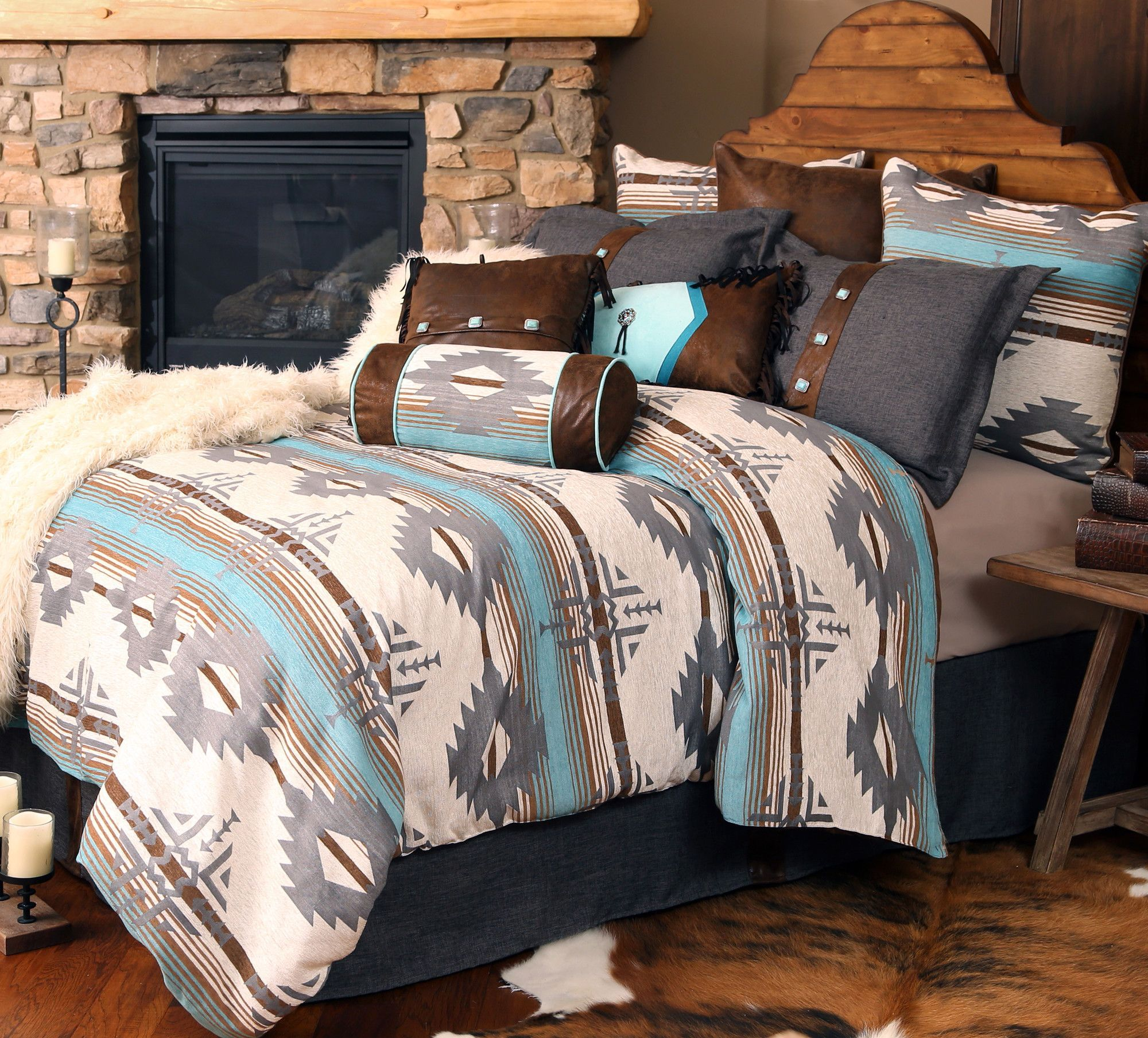 montana bedding collection  home sweet home  pinterest  montana  - carstens inc twin contains  comforter  bed skirt  pillow sham and neckroll queenking contains  comforter  bed skirt  pillow shams and