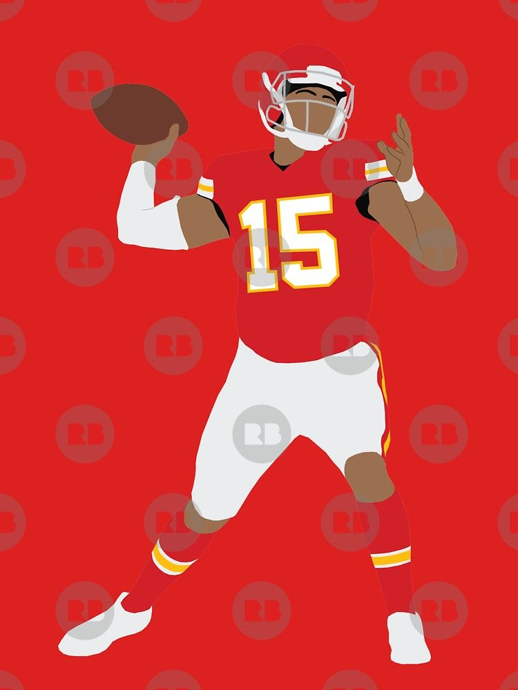 Patrick Mahomes By Patormsby17 Kansas City Chiefs Indie Art Custom Illustration