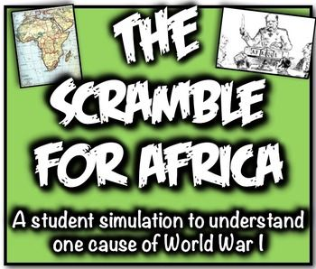 Imperialism  Scramble For Africa Simulation A Major Cause Of World  The Scramble For Africa Student Simulation A Major Cause Of World War I Help To Do Assignment In Malaysia also Mahatma Gandhi Essay In English  Essay Writing Paper