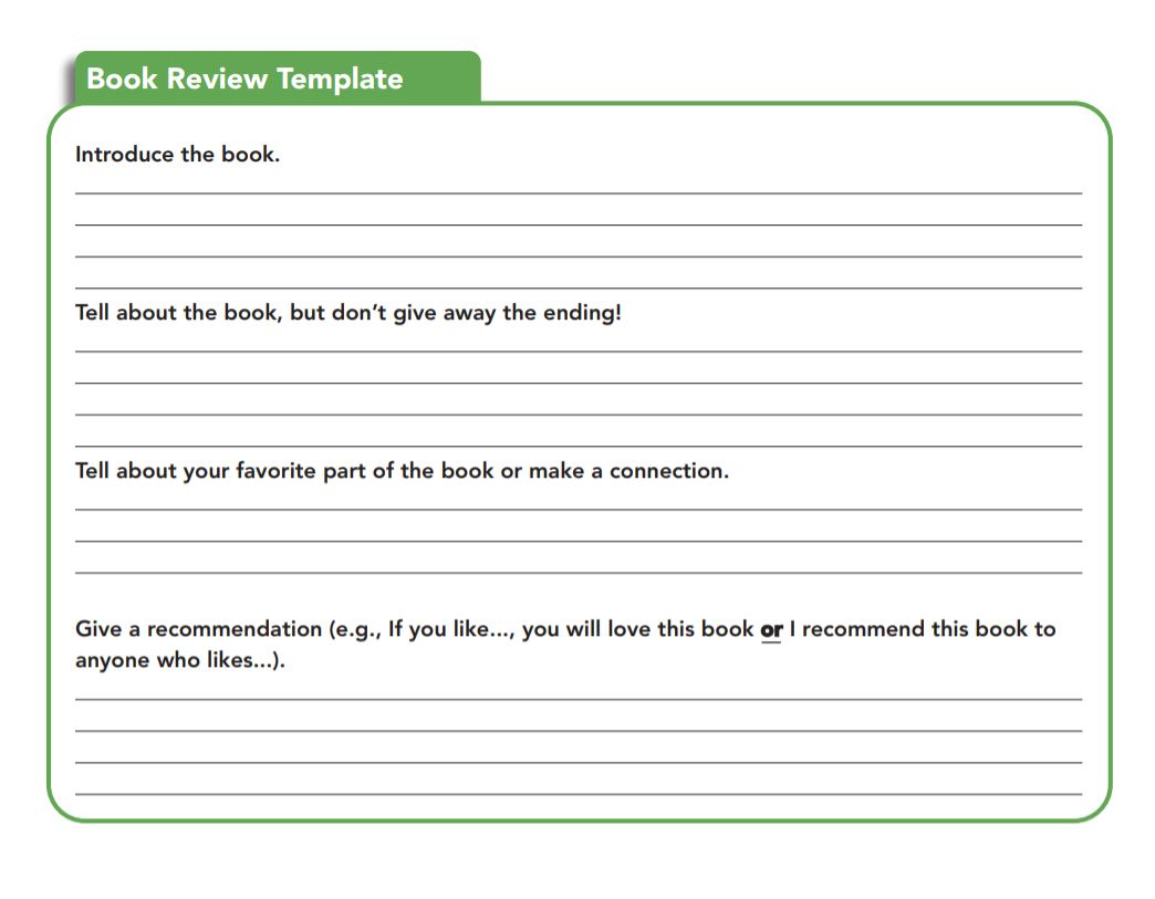 Book Review Examples And How To Write A Book Review Within