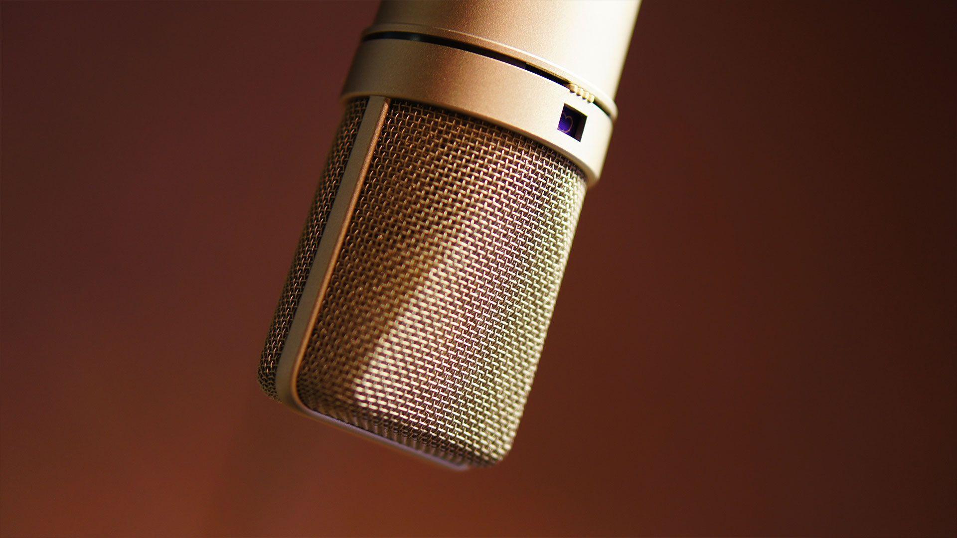 Neumann U87 Microphone At Wimbledon Sound Recording Studio