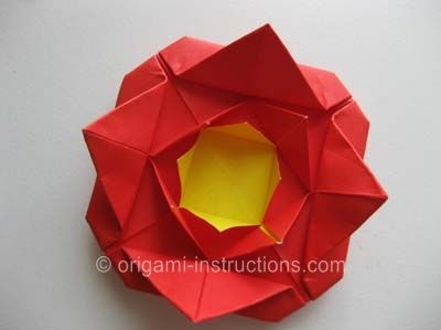 Photo of Origami Rose with Leaf Folding Instructions – How to fold an Origami Rose with Leaf