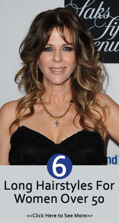 30 Incredible Long Hairstyles For Women Over 50