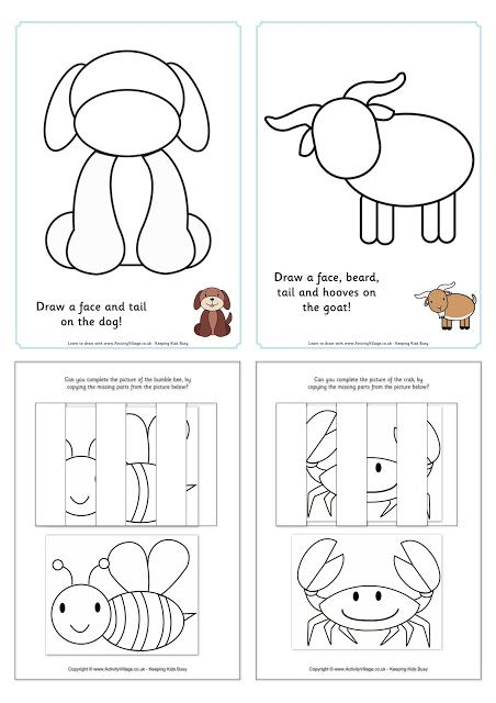 Lovely Free Visual Closure Worksheets Designed By