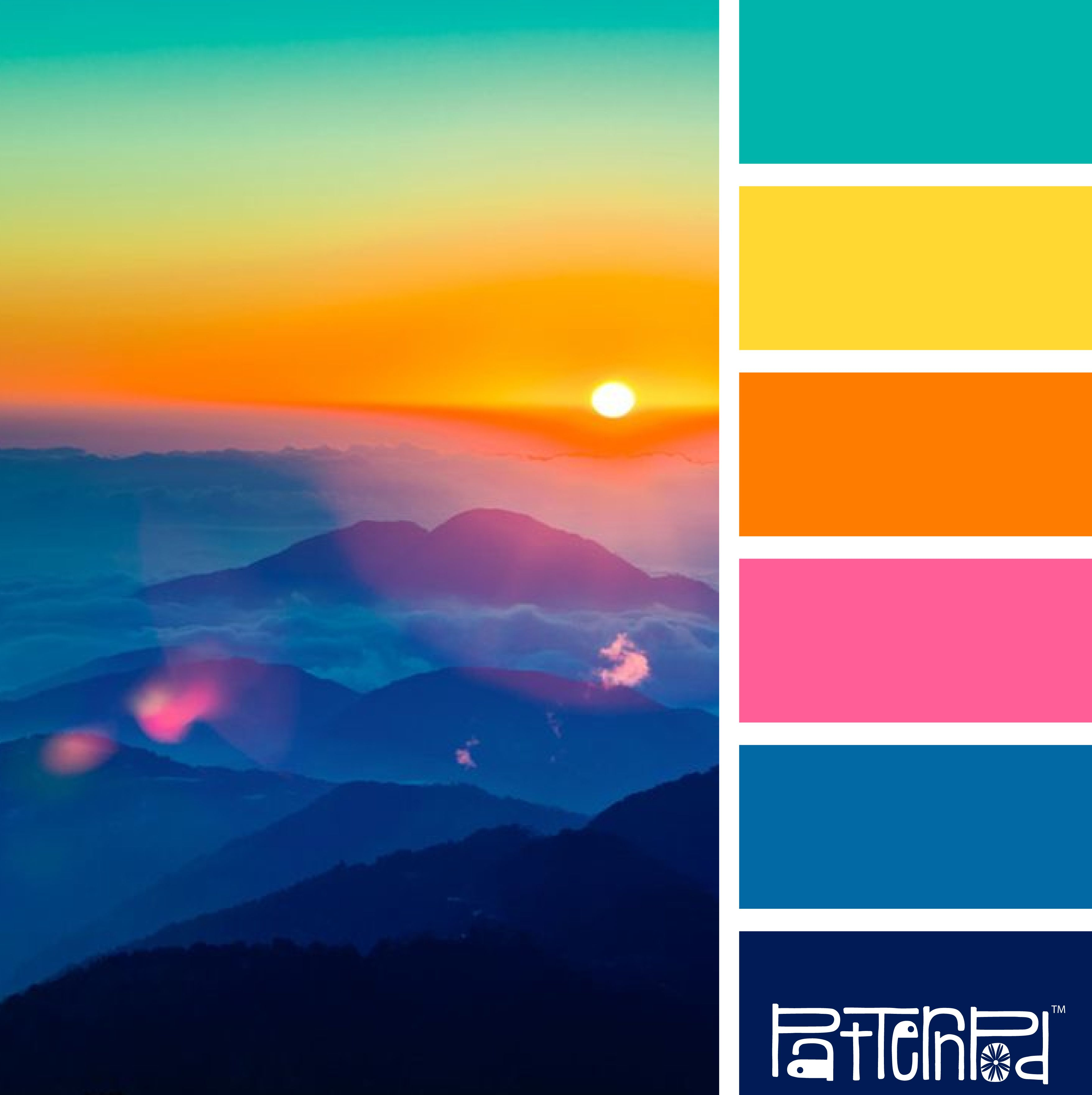Color Combo Bright And Beautiful Range Match A Modified Sunset