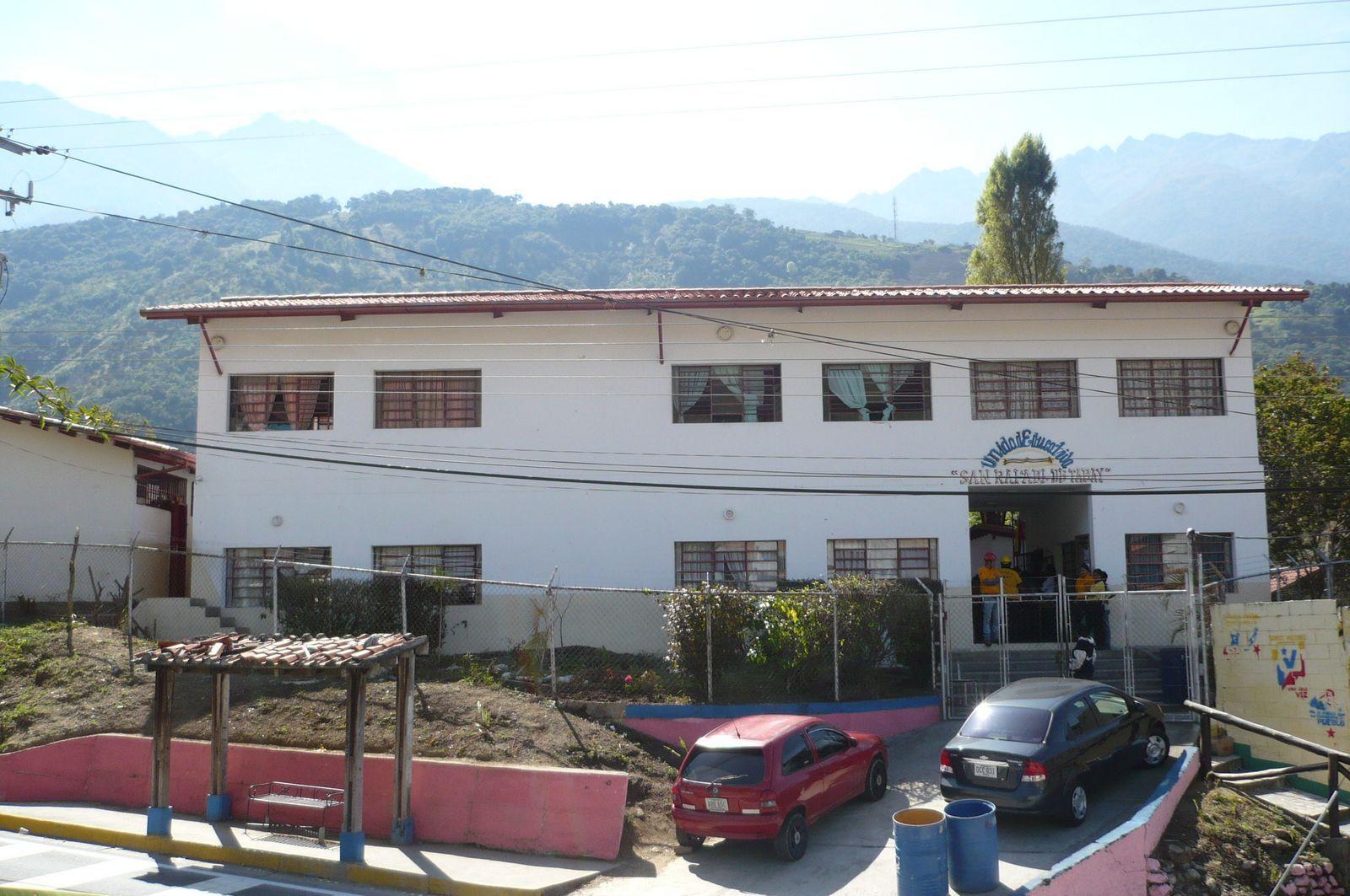 """Unidad Educativa """"San Rafael de Tabay"""". Municipio Santos Marquina, Estado #Mérida 2011"""