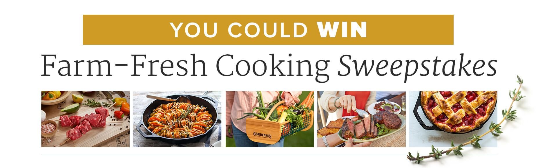 America\'s Test Kitchen Farm-Fresh Cooking Sweepstakes   Cooking ...