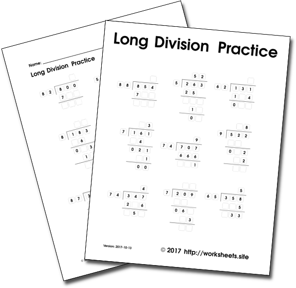 Free Division Worksheets 40 Pages Free 2 Digits Long Division Worksheets Download Print And Pract Long Division Worksheets Long Division Division Worksheets