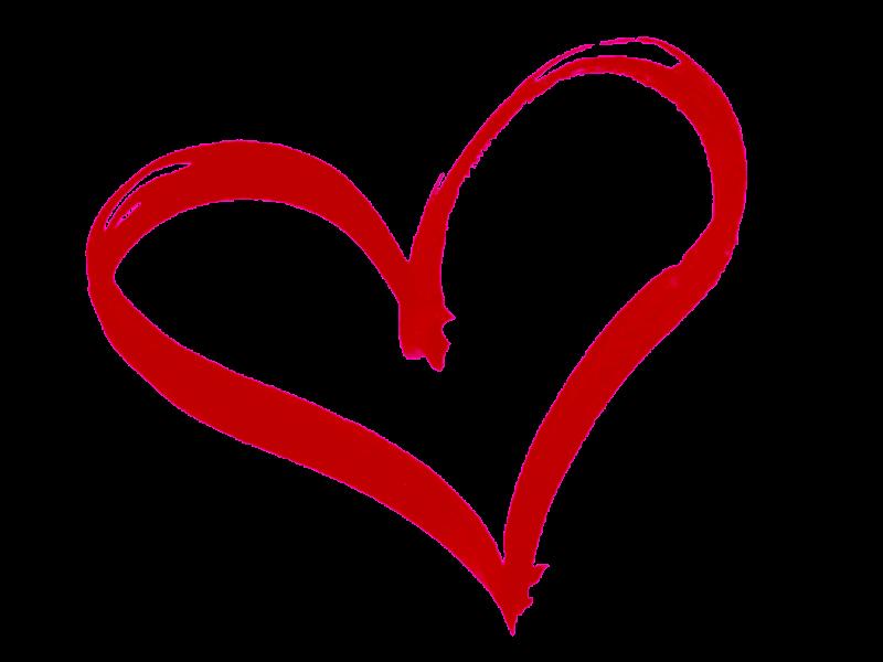 Contorno De Corazon Dibujo Rojo Png Transparente Stickpng En 2020 Cliparts Gratuitos Corazones Dibujos De Corazones