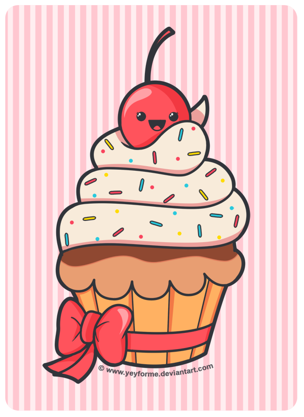 cupcake desenho pesquisa google kawaii pinterest kawaii
