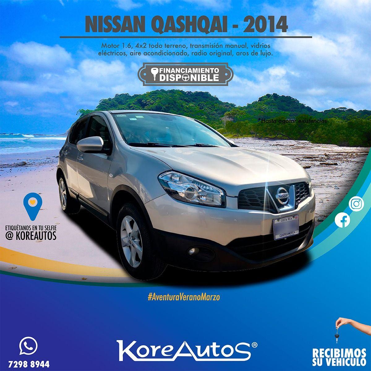 Nissan Qashqai 2014 Nissan Nissan Qashqai Vehicles