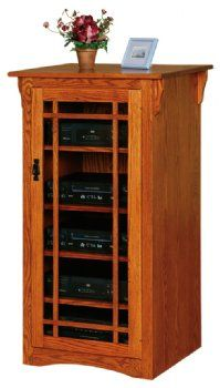 Mission Stereo Cabinet Country Lane Furniture Stereo Cabinet Amish Furniture Mission Style Furniture