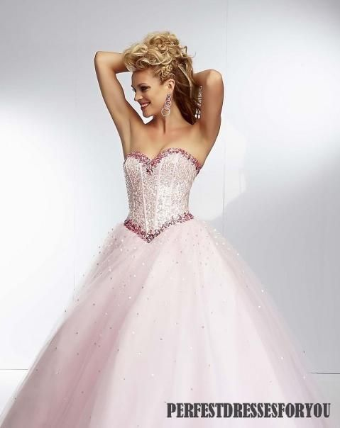 If this was light blue it would be Cinderella's dress!