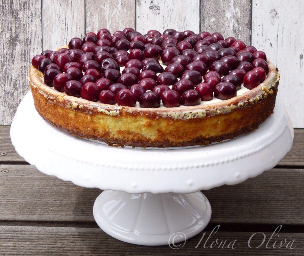 Vanilla Cheesecake Sweets Pinterest Kasekuchen Und Vanille