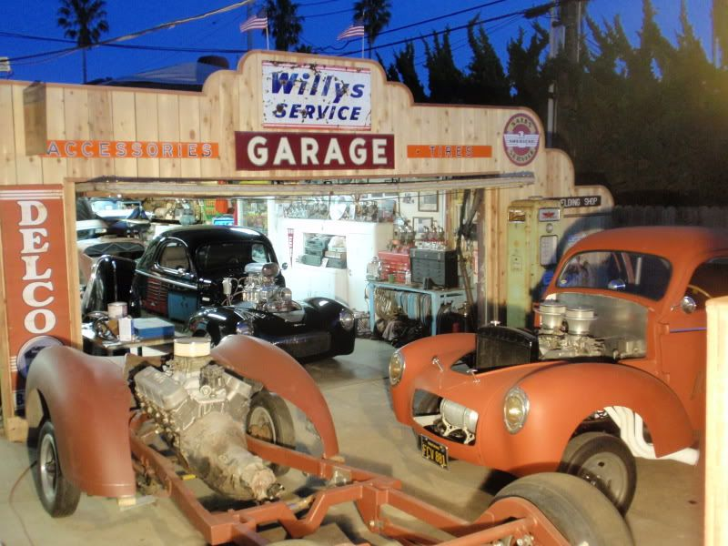 Kiwi Kev's backyard Hot Rod Shop. - The Garage Journal ...