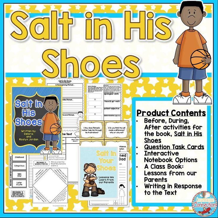 Salt in His Shoes Teaching Activities