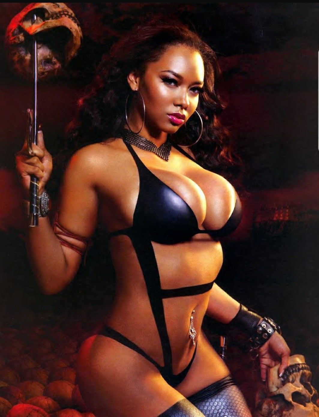 Black Women Into Leather And Bdsm