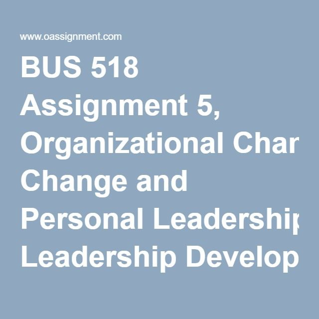 personal leadership development plan