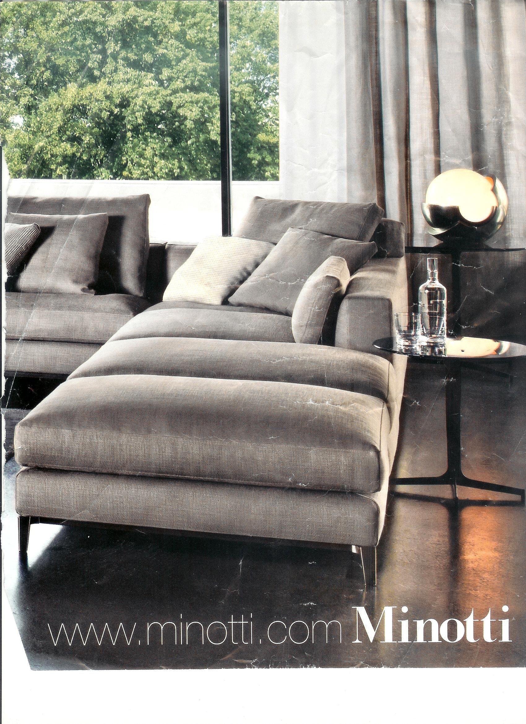 Minotti Jagger Low Back Sofa contemporary sofas
