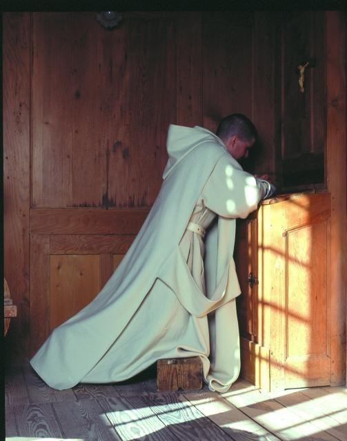 how to become a roman catholic monk