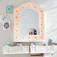 Hannah Beauty Mirror + Shelves