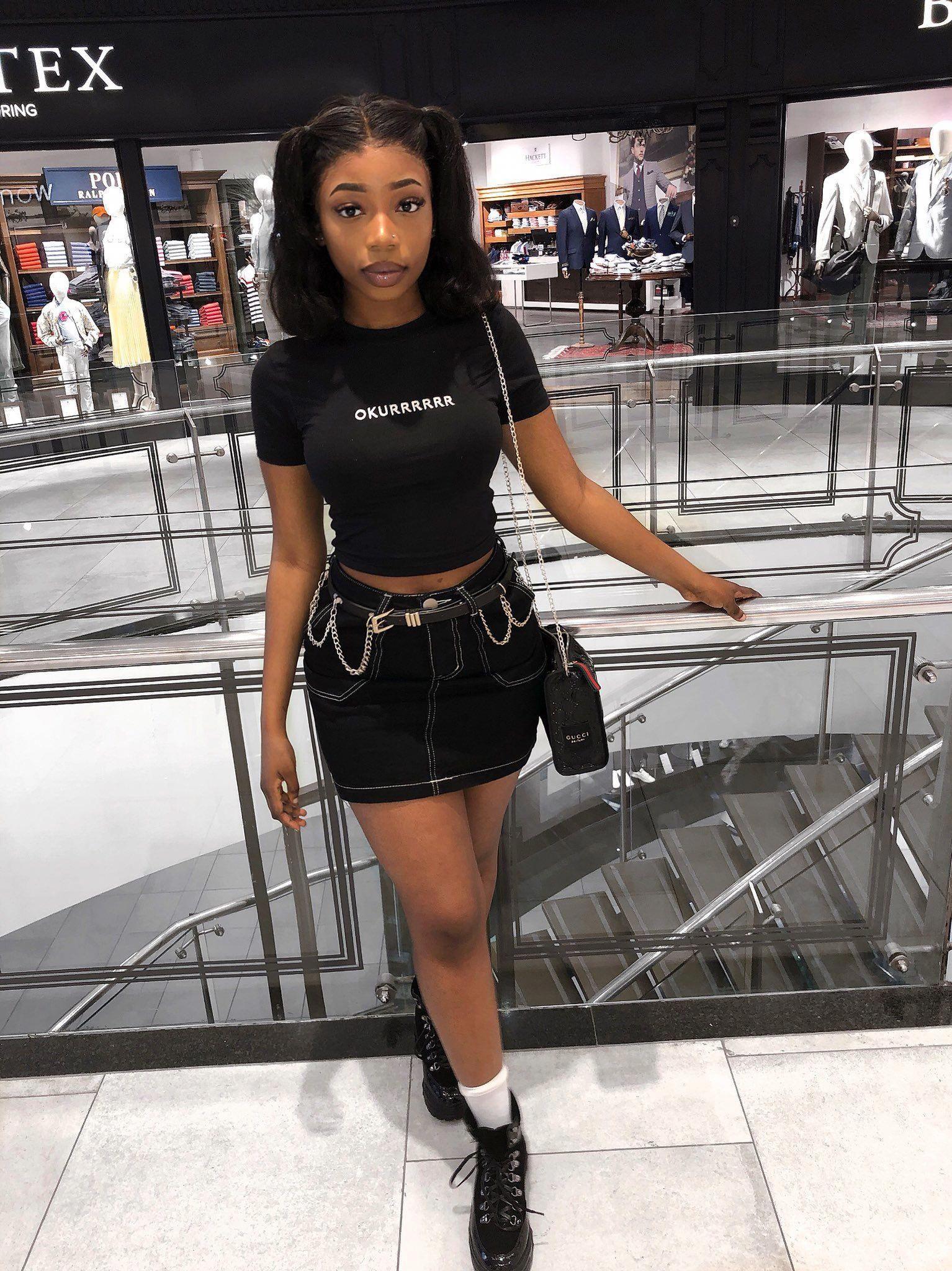 Womens Black Fashion Short Wigs Blackwomensfashion With Images