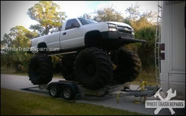 Lifted Truck
