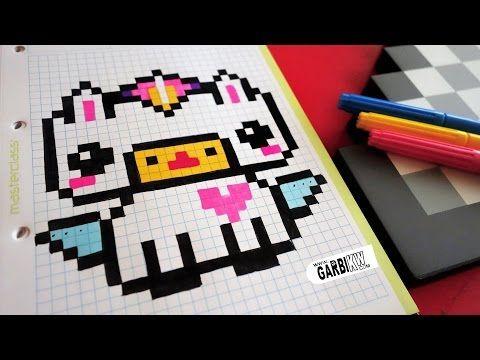 Pixel Art Emoji Licorne