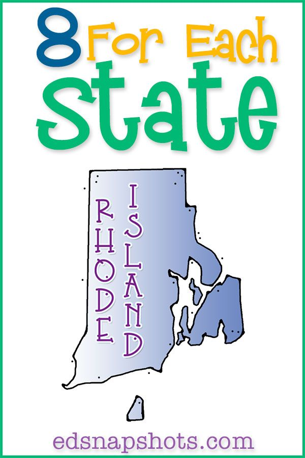US Geography Rhode Island--a little state big on character