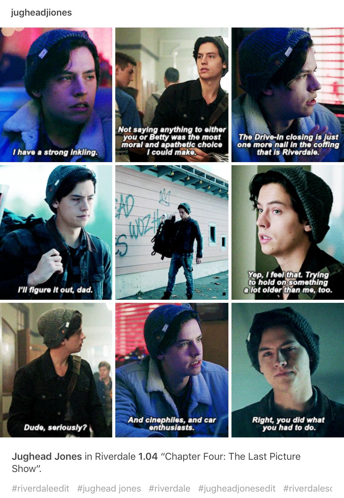 Riverdale Quotes Custom Riverdale #jughead  Riverdale  Pinterest  Tvs Movie And Fandoms