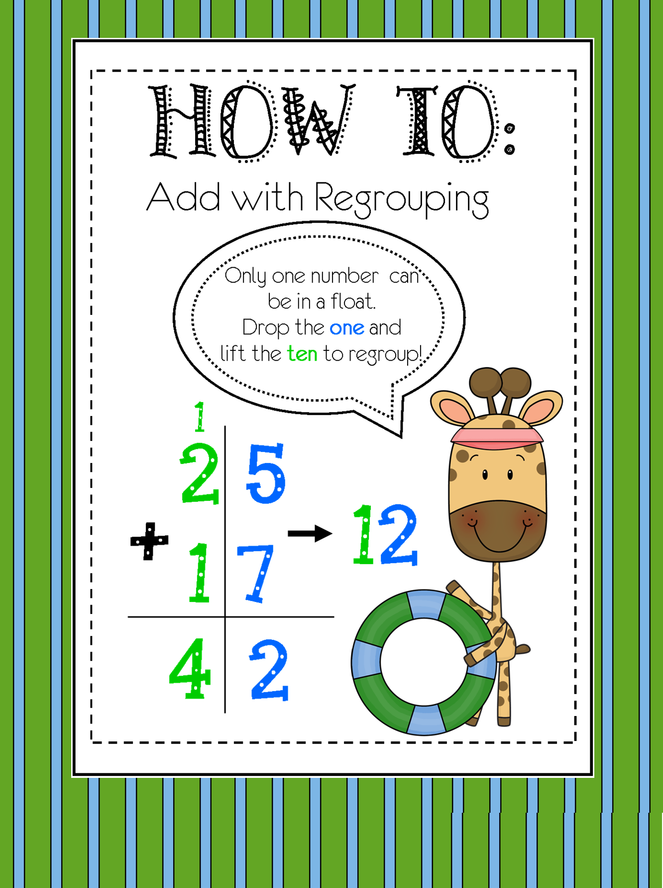 2 Digit Addition (with Regrouping) | 2nd grade math ...