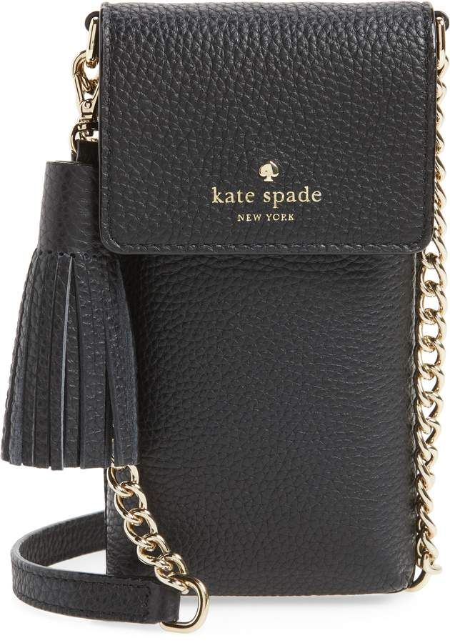 12a7eecfc Kate Spade North/South Leather Smartphone Crossbody Bag | Products ...