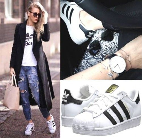 How to wear your Adidas Superstars ?