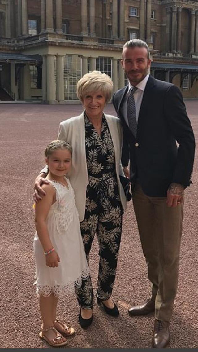 happy birthday to princess harper the beckham family david rh pinterest com