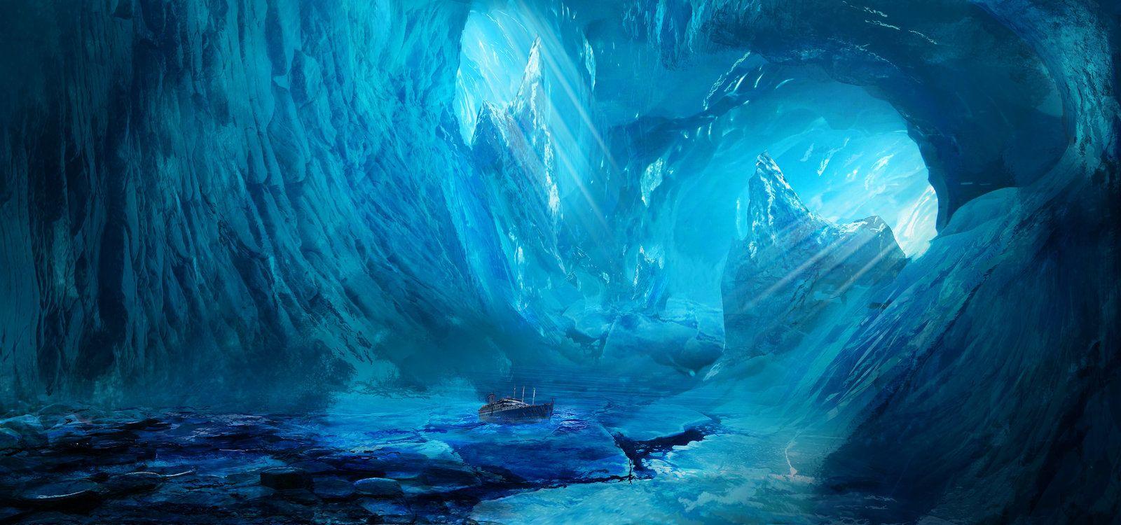 Cave, Steven Richards on ArtStation at https://www.artstation.com/artwork/cave-88fe9eb4-0b2d-49f1-a58d-1191432d64e5