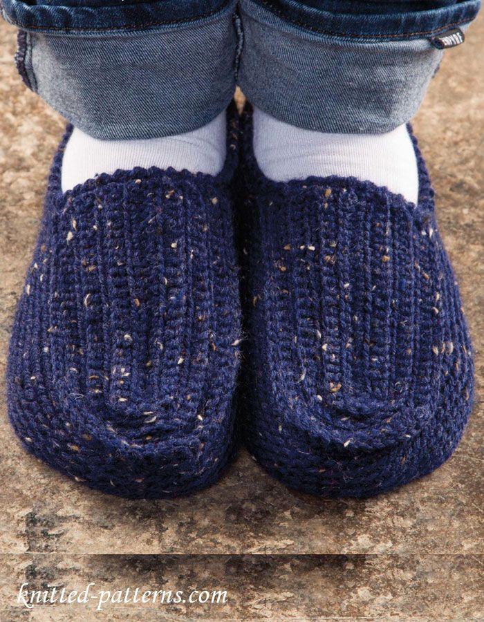 Mens Slippers Crochet Pattern Free Crochet Pinterest Slippers