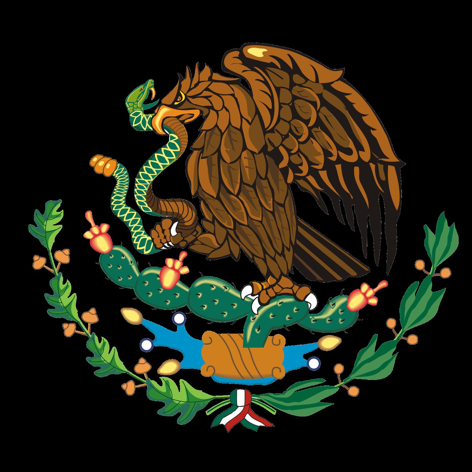 Escudo Mexicano Aguila De La Bandera Mexicana Escudo De Mexico Aguila Mexicana